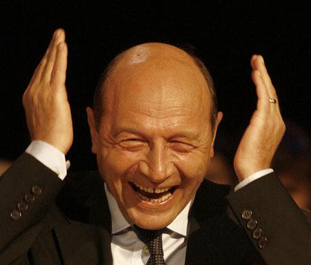 Traian Basescu dopo la vittoria al referendum