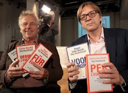 Verhofstadt e Cohn-Bendit