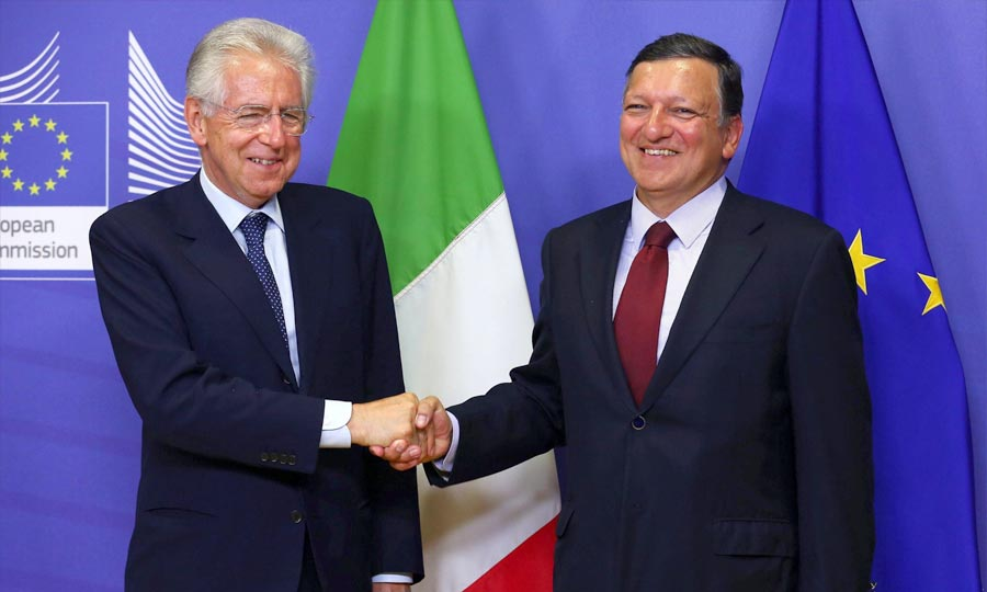 Monti_Barroso_Dirigeants_UE