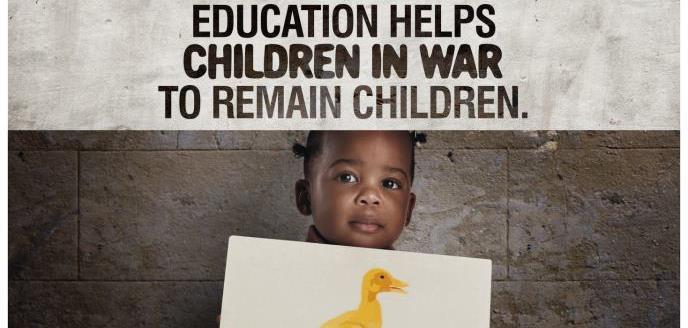 Bambina in guerra