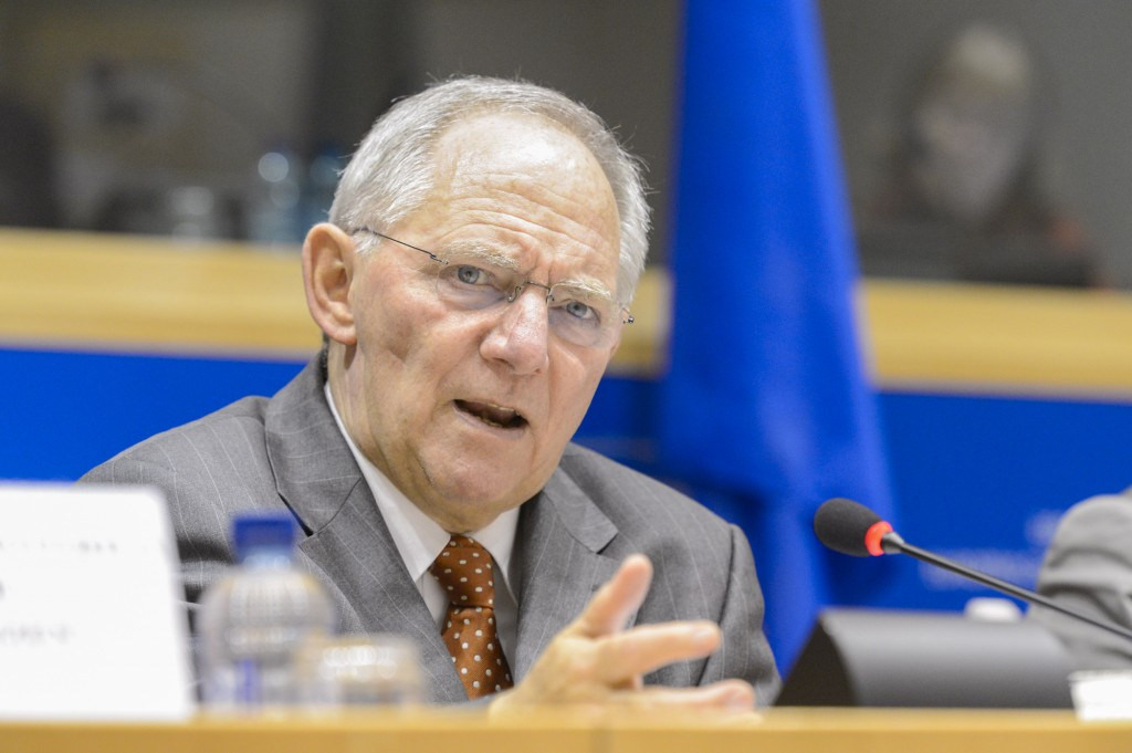 Wolfgang SCHAUBLE, Minister finances of Germany