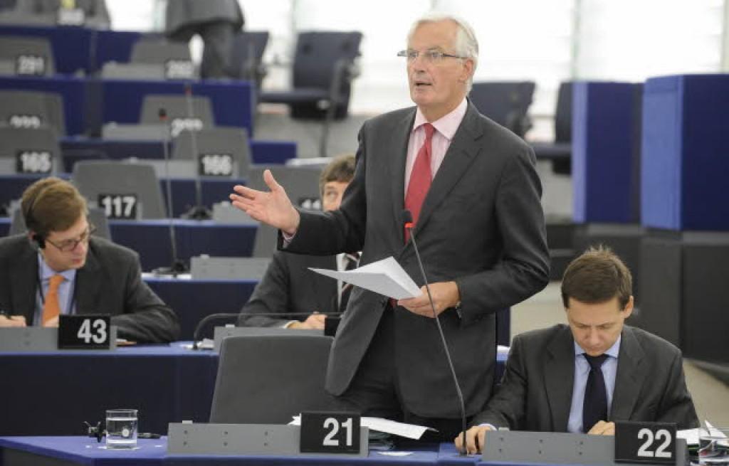 Michel Barnier in audizione al parlamento di Strasburgo © European Union 2013 EP