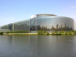 La sede del Parlamento a Strasburgo