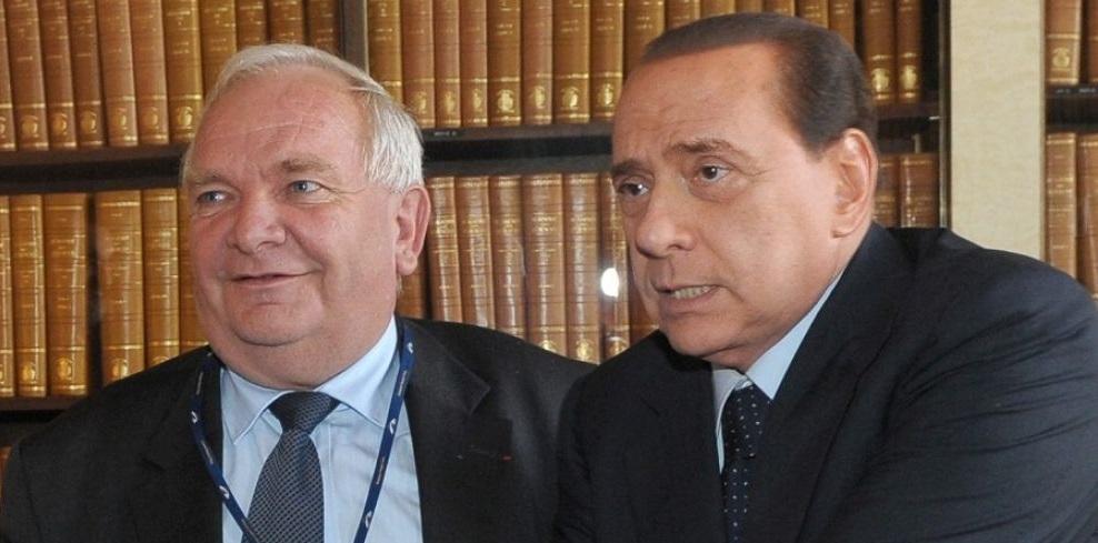 Joseph Daul e Silvio Berlusconi