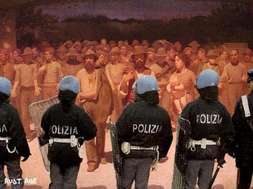 Quarto stato polizia
