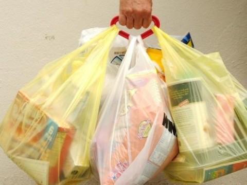 plastica sacchetto