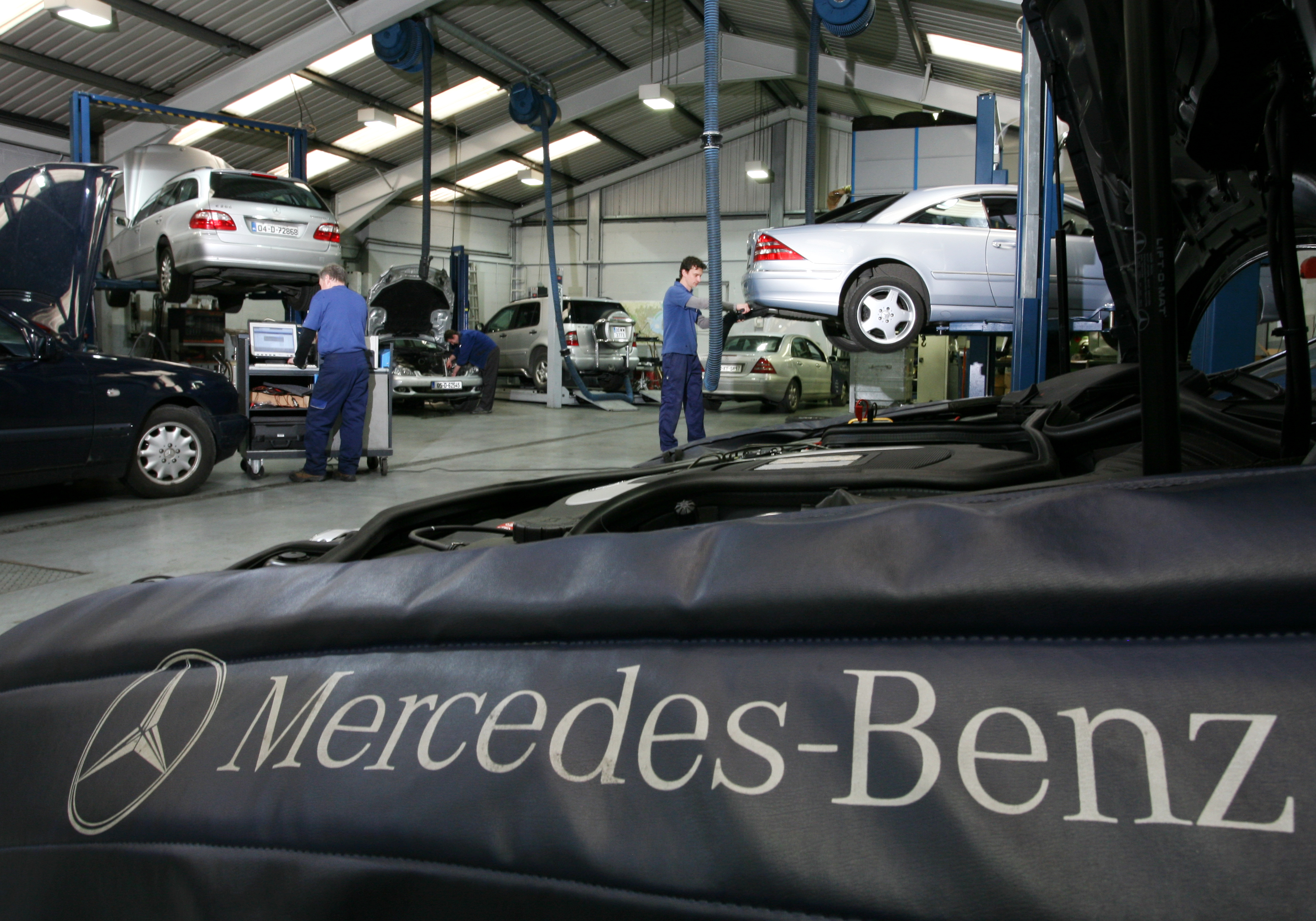 Procedura di infrazione contro la germania per i for How much is service c for mercedes benz