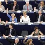 Europarlamentari al lavoro