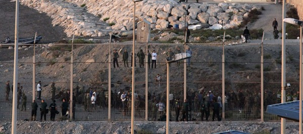 La frontiera a Ceuta
