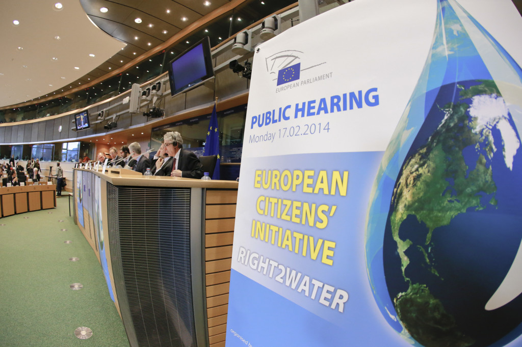 ENVI DEVE IMCO PETIHearing on the EuropeanCitizens' Initiative 'Right2Water