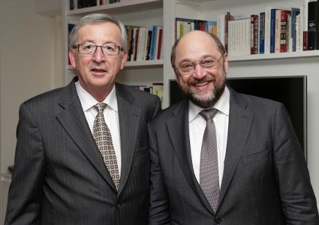 Schlz Juncker