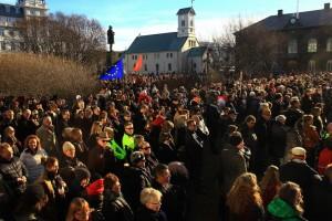 Islanda manifestazione