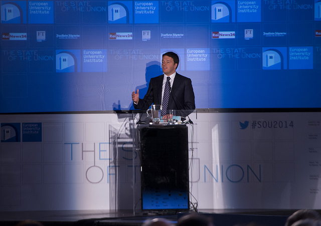 Renzi a The State of the Union