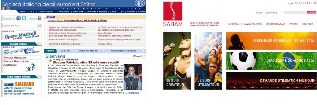 SIAE vs SABAM