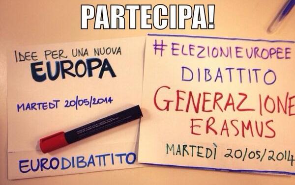 dibattito giovani italiani Bruxelles