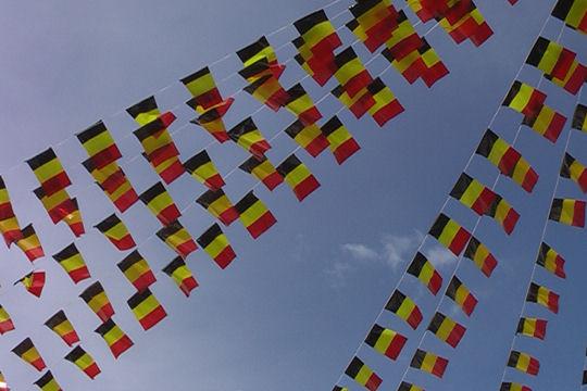 Bandierine Belgio