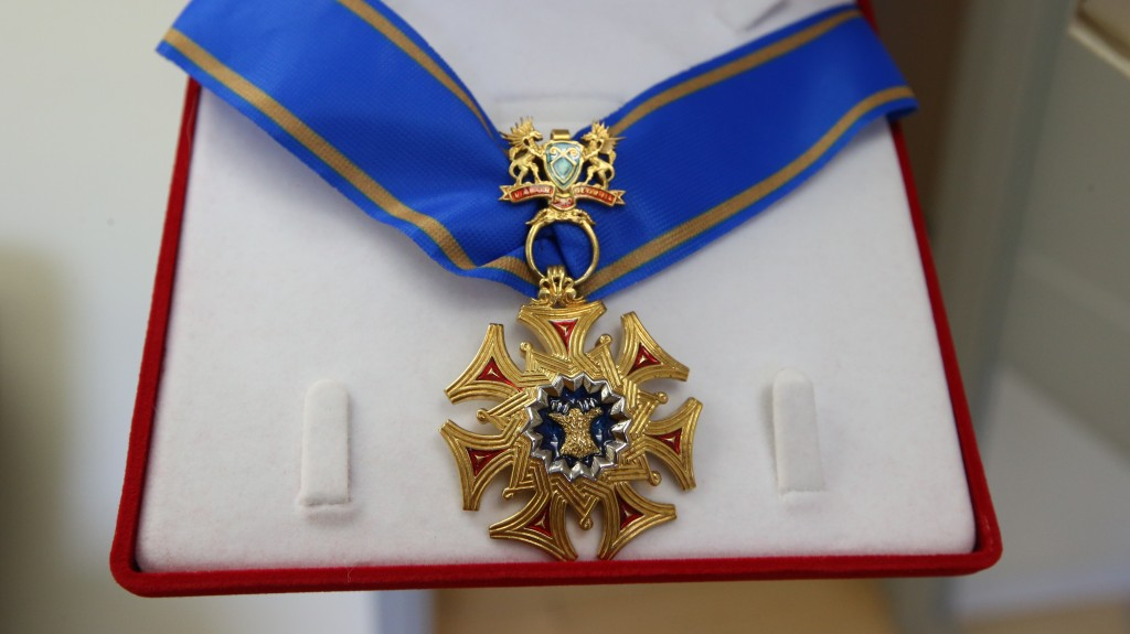 The Medal of the Order of Golden Fleece of Georgia