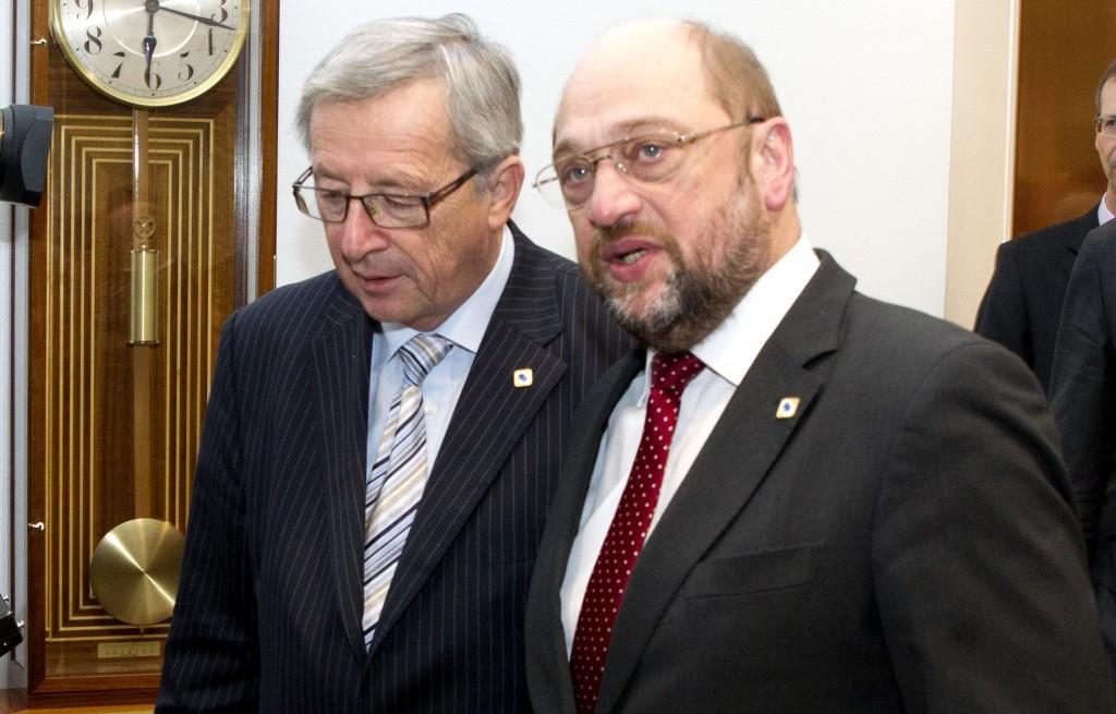 Juncker  e Schulz