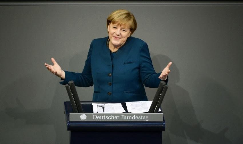 Merkel al Bundestag