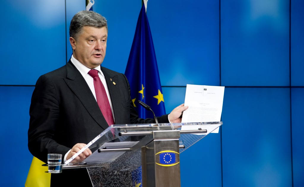 Poroshenko Consiglio europeo