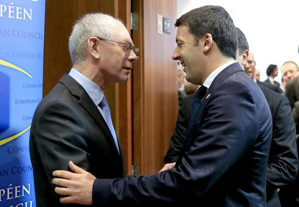Renzi Van Rompuy
