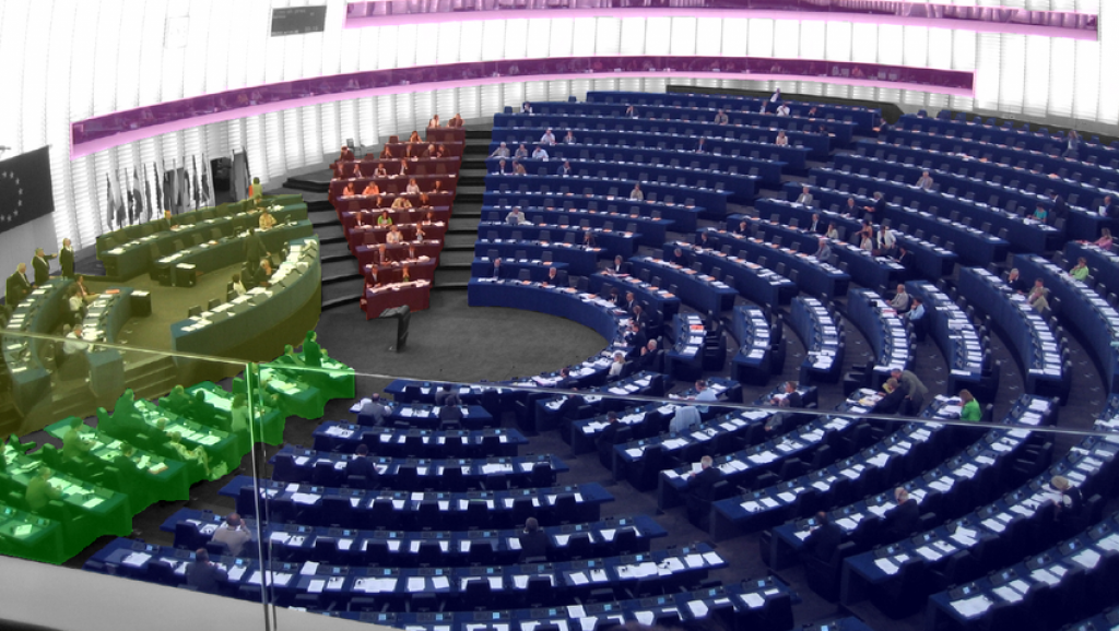 Seats European Parliament
