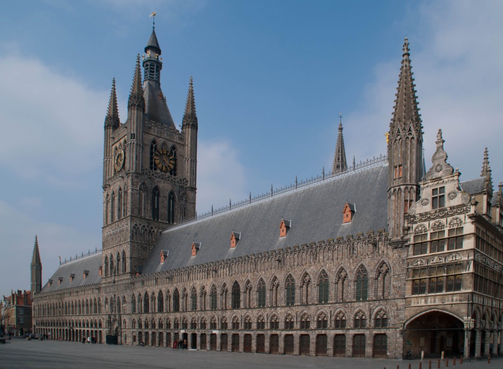 Ypres' new Townhall