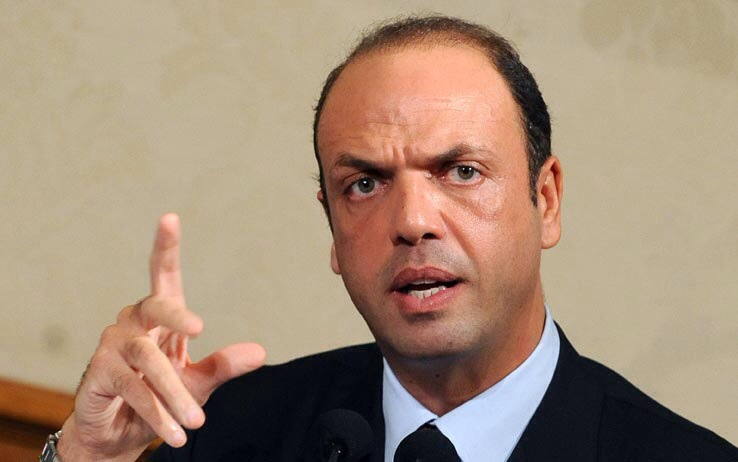 Angelino Alfano Immigration Alfano Frontex should replace Mare Nostrum