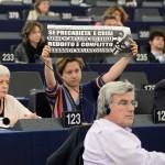 Protesta in Aula di Forenza: