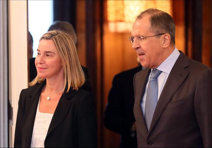 Mogherini Lavrov