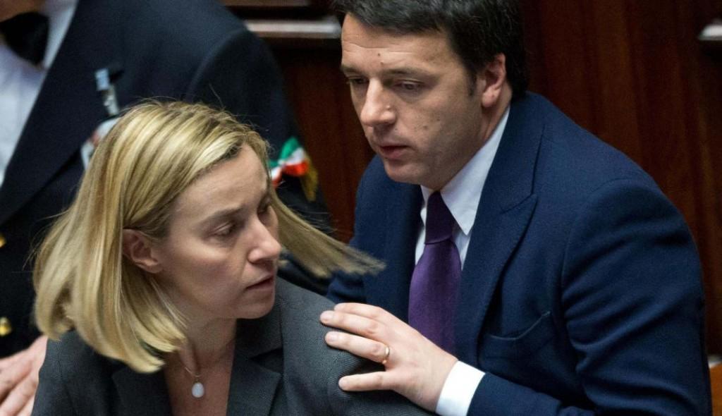 Renzi e Mogherini