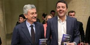 D'Alema con Renzi