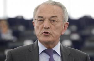 Il presidente della commissione Bilancio del Parlamento europeo  Jean Arthuis