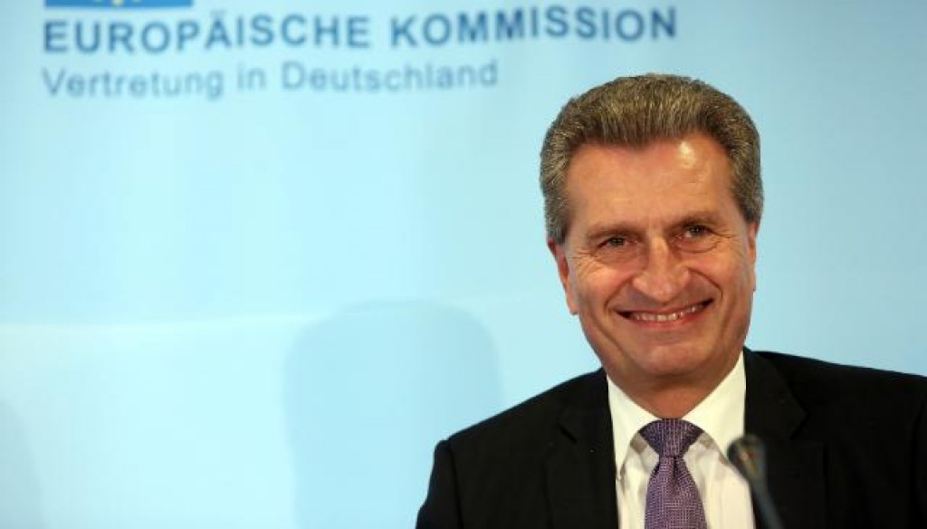 Il tedesco Gunther Oettinger