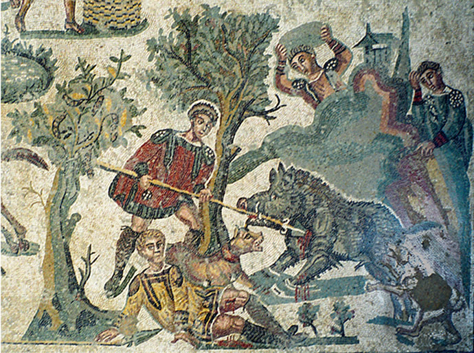 Mosaico della villa del Casale a Piazza Armerina