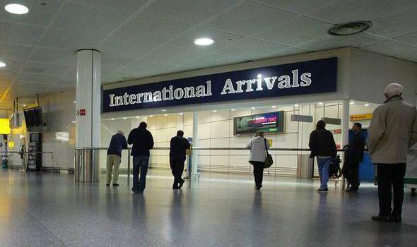 Arrivi internazionali all'aeroporto di Gatwick