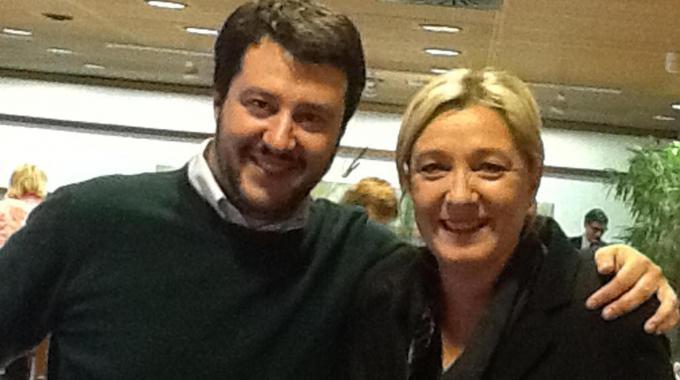 Le Pen Salvini