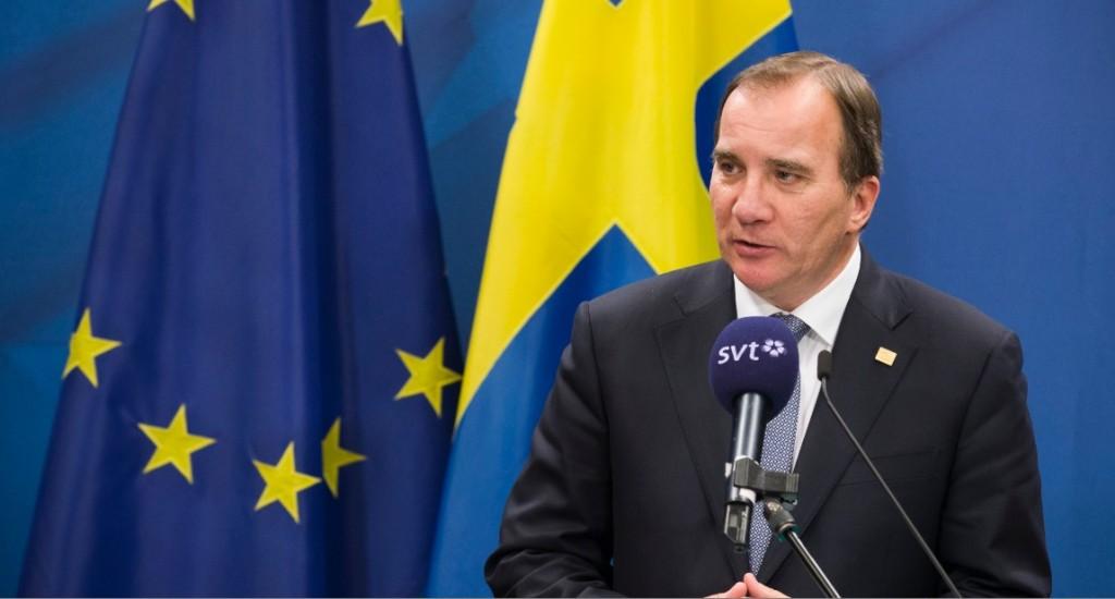 Il premier svedese Stefan Lofven