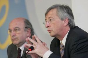 Juncker e Almunia