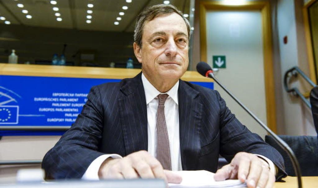 Mario Draghi - ph. Parlamento europeo