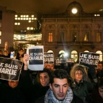 Strage al Charlie Hebdo, la solidarietà di Bruxelles (Foto)
