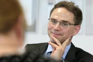 Il vice presidente della Commissione Ue Jyrki Katainen