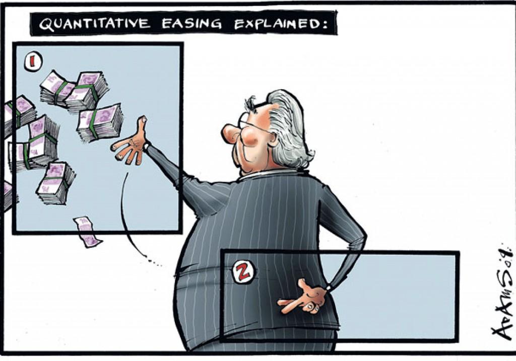 QE, un rischio calcolato? (Immagine tratta da http://icebergfinanza.finanza.com)