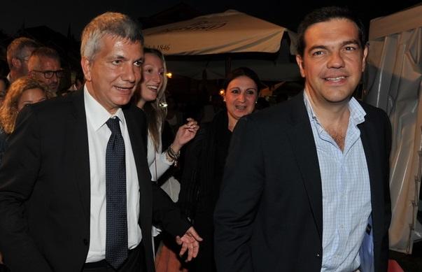 Vendola e Tsipras