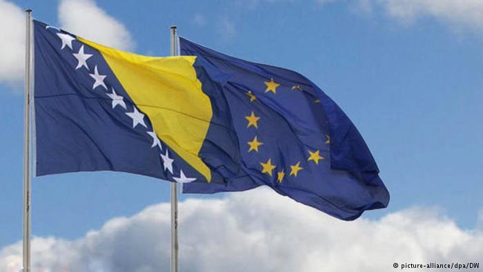 Bosnia Eu flag