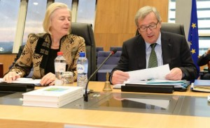 Catherine Day e Juncker