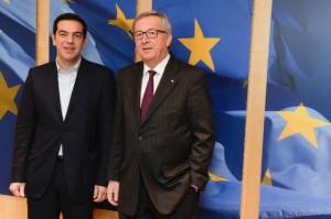 Tsipras Juncker