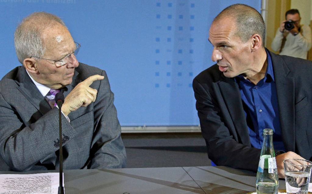 Varoufakis e Schauble