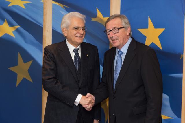 Mattarella Juncker