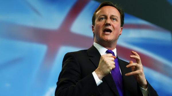 David Cameron, primo ministro britannico